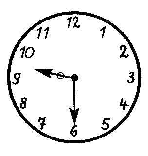 Afbeeldingsresultaat voor klok 9:30